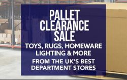 No Reserve - Pallet Clearance Sale! 11th January 2021