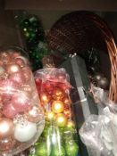 RRP £1300. Pallet To Contain A Large Assortment Of Xmas Items From John Lewis Including Xmas Led Lig