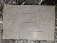 RRP £320 Pallet To Contain 32 Brand New Packs Of 15 Johnson's Shle1F Shale 2 Way Scored Tiles (