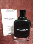 RRP £85 Boxed 100Ml Tester Bottle Of Givenchy Gentleman Eau De Parfum