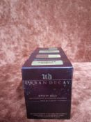 RRP £100 Lot To Contain Four Boxed Testers Of Urban Decay Brow Box Waterproof Eyebrow Powder Wax And