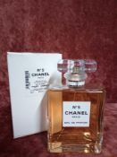 RRP £115 Boxed 100Ml Tester Bottle Of Chanel Paris Number 5 Eau De Parfum