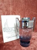RRP £75 Boxed 100Ml Tester Bottle Of Paco Rabanne Invictus Aqua Edt Spray