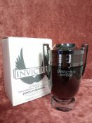 RRP £75 Boxed 100Ml Tester Bottle Of Paco Rabanne Invictus Intense Edt Spray