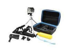 RRP £60 Boxed Jivo Go Gear 6-In-1 Kit For Gopro Action Camera