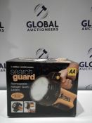 RRP £120 Lots To Contain 12 Brand New Boxed Aa Searchguard Rechargeable Halogen Quartz Lantern With