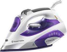 RRP £150 4 Boxed Russell Hobbs Steam Irons