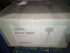 RRP £120 Boxed Eddie Floor Light
