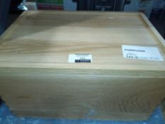 RRP £100 Lot To Contain 2 John Lewis Chopping Boards And A Bread Bin