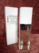RRP £90 Boxed 100Ml Tester Bottle Of Chanel Paris Cristalle Eau Verte Eau De Toilette Concentre√©