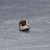 RRP £4,900 Lose Cut Cornered Square Modified Brilliant 2.12 Carat Natural Fancy Dark Brown Diamond