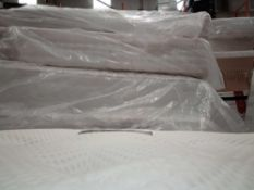RRP £3000 Pallet To Contain 5 Assorted Top Of The Range Designer Mattress In Assorted Sizes To Incl