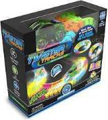 RRP £120 Lot To Contain 7 Assorted Boxed Of Neon Glow Twist Master Tracks