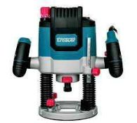 RRP £100 Boxed Erbauer Er2100 2100W Electric Router 220-240V