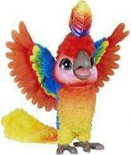 RRP £120 Lot To Contain 2 Boxed Assorted Toys Include A Furreal Rock-A-Too Toy Parrot And A Glow Pad