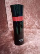 RRP £70 Unboxed 75Ml Tester Bottle Of Armani Code A-List Edt Spray Ex Display