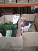 RRP £1000 - Assorted Christmas Decorations By John Lewis