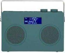 RRP £210 Lot To Contain 3 Boxed John Lewis Spectrum Duo Dab+/Fm Digital Radios
