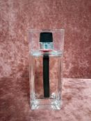 RRP £90 Unboxed 100Ml Tester Bottle Of Christian Dior Homme Sport Edt Spray Ex-Display