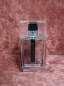 RRP £75 Unboxed 100Ml Tester Bottle Of Christian Dior Homme Eau For Men Edt Spray Ex-Display