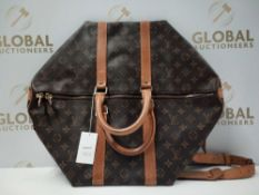 RRP £1300 Louis Vuitton Keepall Bandouliere Monogram Canvas