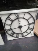 RRP £2900 - Approximately 80 Pieces Of Wall Art In Canvas And Clock Form In Various Styles Design's