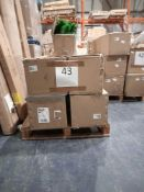 RRP £1000 - 5 Assorted Christmas Trees