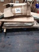 RRP £1000 - Assorted Flat Pack Furniture For House And Garden In Part Lots