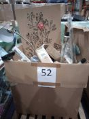 RRP £1000 - Pallet To Contain Assorted Household Items From Wayfair Including Wall Art, Curtain Pole