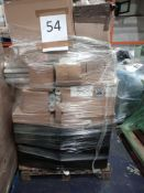 RRP £500 - Pallet To Contain Assorted Single Rolls Of Wallpaper, Light Shades In Various Styles, Des