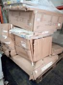 RRP £1500 - Pallet To Contain Assorted Flat Pack Furniture In Part Lots Including Coffee And Dining