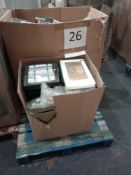 RRP £1000 - Pallet To Contain Assorted Christmas Decorations, Crackers And Wrapping Paper With Tags