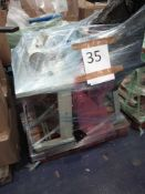RRP £1500 - Pallet To Contain 2 Juki Industrial Sewing Machines With Fixed Table