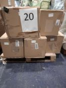RRP £1000 - Pallet To Contain 5 Christmas Trees From Qvc In An Assortment Of Sizes And Styles