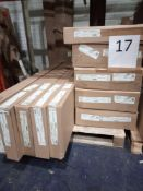 RRP £2500 - Pallet To Contain 5 Sideboards With 3 Doors And 1 Or 3 Drawers In White From Trend Team