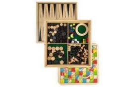 Combined £185 Lot To Contain 5 Boxed John Lewis Toys And Play Sets. This Includes Wooden Ride-On