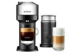 RRP £200 Lot To Contain Boxed Nespresso Vertuo Next & Aeroccino 3 Coffee Machine (Appraisals