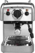RRP £185 Boxed Dualit Dcm2X Coffee System And Jug, Polished Steel