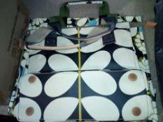 RRP £120 2 Bagged Orla Kiely Kimono Print Handbags