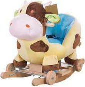 RRP £100 Bagged Nattou Loves Your Baby Soft Animal Design Rocker
