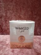 RRP £80 Brand New Boxed And Sealed 80Ml Bottle Of Azzaro Wanted Girl Eau De Parfum Spray