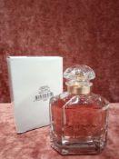 RRP £90 Boxed 100Ml Tester Bottle Of Guerlain Paris Mon Guerlain Eau De Parfum Spray