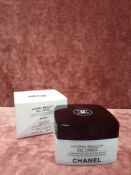 RRP £55 Brand New Boxed Unused Tester Of Chanel Paris Hydra Beauty Gel Creme 50G