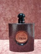 RRP £80 Unboxed 90Ml Tester Bottle Of Yves Saint Laurent Black Opium Eau De Toilette Spray Ex-Displa