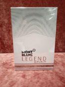 RRP £95 Brand New Boxed And Sealed 200Ml Bottle Of Mont Blanc Legend Spirit Eau De Toilette Spray