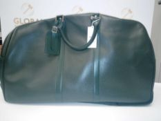 RRP £960 Louis Vuitton Kendall Dark Green Taiga Bag (Aa08337)Grade A