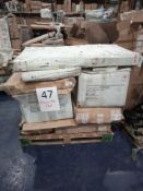 RRP £1000 - Pallet To Contain Assorted Flat Pack Furniture In Part Lots Including Dining And Console