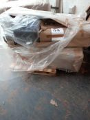 RRP £1000 - Pallet To Contain 2 Swoon Bagged Part Lot Corner Designer Sofas In Assorted Colours (