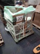 RRP £400 - Pallet To Contain 4 Assembled Barstools From Debenhams In Various Sizes And Styles (