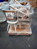 RRP £1000 - Pallet To Contain 10 Assorted Chairs And Stools In Various Styles And Colours